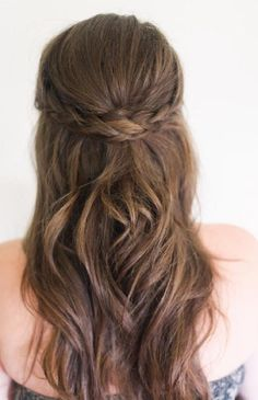 LOUISE - love this for a half up half down do, although would like the plait to be a bit more obvious/stand out as love plaits lots!