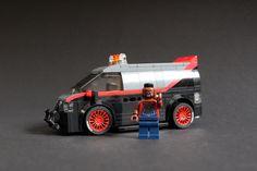 Lego Batmobile, Lego Cars, A Team Van, Lego Transformers, Van Lego, Amazing Lego Creations, Lego Speed Champions, Lego Castle, Lego Models