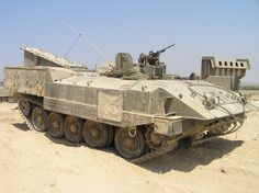 Achzarit Heavy Armored Personnel Carrier (Israel)