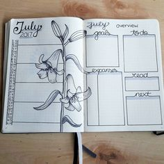 Happy July my bujo friends. Starting a new month today in my bullet journal. Still in love with this selfmade notebook calendar. This picture is old. I changed expanses in expenses. Little mistake I made in some month overview. Sorry for that. But I hope you still love my kind of design. #bulletjournal #bujo #bujojunkies #wearebujo #planner #planning #kalender #inspiration #bulletjournallove #bulletjournalcommunity #journaladdict #bujoaddict #bulletjournaling #bujocommunity