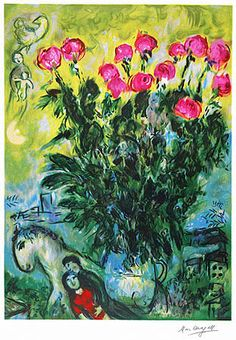 Les Roses, Marc Chagall
