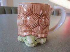 Vintage Mug, Turtle Mug, Otagiri Mug, Ceramic, Made in Japan, Cute Turtle, Kawaii, Coffee Cup, Coffee Mug, Mary Ann Baker, Animal Mug on Etsy, $11.26 CAD