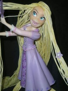 Rapunzel por Silvia Pellegrini
