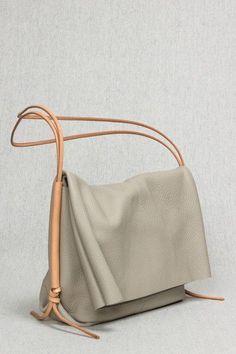 * The Fold Bag in Desert by Open Habit - Beam & Anchor - radley handbags, handmade leather handbags, used handbags Fall Handbags, Leather Handbags, Leather Bag, Black Leather, Leather Totes, Hermes Handbags, Satchel Handbags, Luxury Handbags, Leather Purses