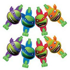 Party Time Celebrations  - Teenage Mutant Ninja Turtles Blowouts, $6.95 (http://www.partytimecelebrations.com.au/teenage-mutant-ninja-turtles-blowouts/)