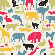 Retro Animals by panova
