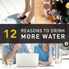 12 Unexpected Reasons to Drink More Water #DitchDisposable #water #healthy #greatist