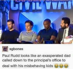 Captain America : Civil War #tumblr #funny