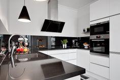 Modern Swedish design. Kitchen
