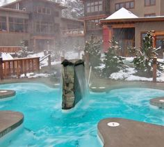 The Scandinave Spa.  Relax for the day and all your stress will melt away.