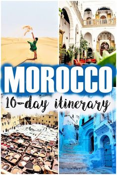 Although my vacation was a bit shorter, I chose to make a 10-day Morocco itinerary because I think this should be the minimum number of days you need to visit the country. If you follow this Morocco itinerary, I promise you a diverse journey | morocco | visit morocco | 10 days in morocco | fes | casablanca | marrakech | morocco travel guide | things to do in morocco | best places in morocco | what to visit in morocco |  morocco itinerary |  #morocco #fes #marrakech #visitmorocco #casablanca