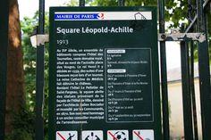 Square Léopold Achille Achilles, City Office