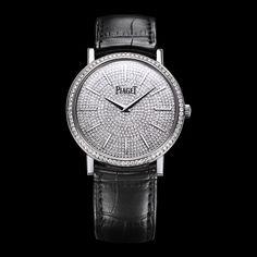 White gold Diamond Ultra-thin mechanical Watch G0A36129 - Piaget Luxury Watch Online