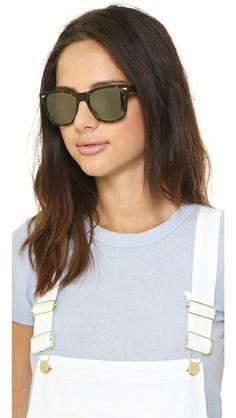 Oliver Peoples Eyewear Lou Polar Mirrored Sunglasses