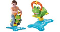 Vtech Count and Colors Bouncing Toy Frog Only $15.83 or Fisher-Price Newborn Rock 'n Play Sleeper Just $32.18 - Couponing to Disney