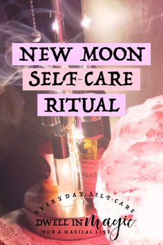 My monthly new moon ritual for setting intentions and preparing for the new moon cycle. This new moon ritual is for clarity, intention setting and manifestation. These are the 8 things I do during every new moon ritual. Samhain Ritual, New Moon Rituals, Full Moon Ritual, Black Velvet, New Moon Phase, Dark Moon, Wolf Moon, Moon Magic, Moon Goddess