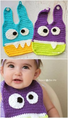 The Cutest Free Crochet Baby Bib Patterns And Tutorials baby patterns boy Crochet Baby Bib Patterns And Tutorials Crochet Baby Bibs, Crochet For Boys, Diy Crochet, Crochet Crafts, Baby Knitting, Crochet Projects, Crochet Baby Clothes Boy, Crochet Toys, Crochet Ideas To Sell