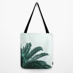 Buy Palm tree abstract Tote Bag by ARTbyJWP. Worldwide shipping available at Society6.com. Just one of millions of high quality products available.  #totebag #palmtree #summer #artprint #tropical #society6 #artbyjwp