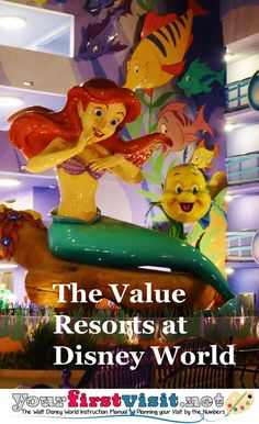 Introduction to The Value Resorts at Walt Disney World |  yourfirstvisit.net