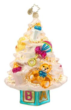 Christopher Radko 'Newborn Christmas Tree' Ornament available at #Nordstrom