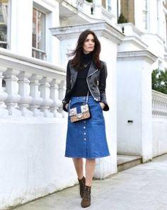 Прямая джинсовая юбка - выглядит спорно почти всегда. Что с ней не так? И какие варианты юбок из денима лучше выбрать вместо нее?