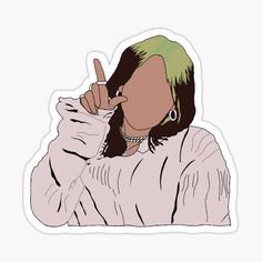 Cartoon Stickers, Tumblr Stickers, Cool Stickers, Printable Stickers, Preppy Stickers, Desenho Harry Styles, Homemade Stickers, Red Bubble Stickers, Snapchat Stickers