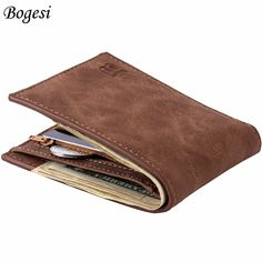 new 2017 men wallets mens wallet small money purses Wallets New Design Dollar Price Top Male Wallet Purse with zipper Coin Bag
