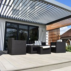 Pergola For Small Patio Modern Pergola, Outdoor Pergola, Outdoor Decor, Gazebo, Diy Pergola Kits, Pergola Designs, Pergola Ideas, Roof Design, House Design