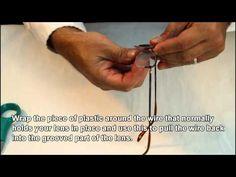 Rimless Glasses Broken : How to fix: broken eye glasses frame with HEAT SHRINK TUBE ...