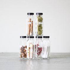 vintage tall laboratory vial bottles set of 6 by AMradio on Etsy, $34.00
