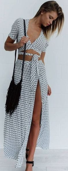 #summer #mishkahboutique #outfits | Boho Two Piece Set