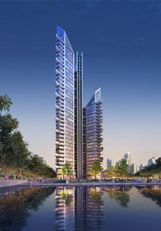 Ningbo Gate Serviced Apartments - Richard Rogers