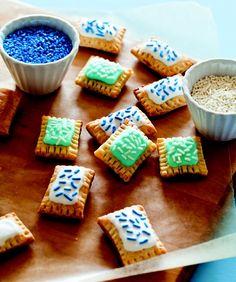 Mini (homemade!) pop-tarts. YUM