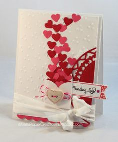 What's better than a homemade card on the day of love? - <3 Sending Love Valentine   Valentine's Day Ideas