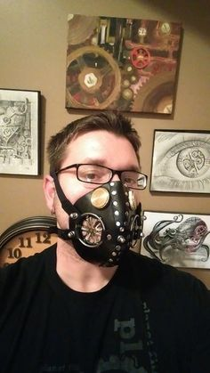 a69f4527283 Make Your Own Leather Respirator Mask Steampunk Mask