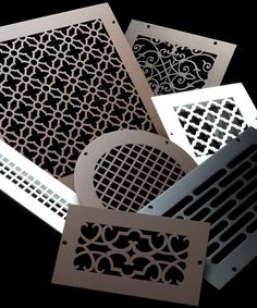 Custom Metal Registers, Vent Covers, and Air Return Grilles Air Return, Air Vent Covers, Do It Yourself Home, Custom Metal, Home Projects, Home Remodeling, Home Accessories, Home Improvement, House Design