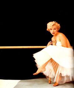 1954 The Ballerina Sitting by Milton H. Greene