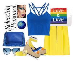 """""""Love is Love"""" by ljbminime ❤ liked on Polyvore featuring Dsquared2, Pierre Hardy, Miss Selfridge and Bulgari"""