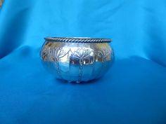 Hugh Wallis Arts and Crafts silver bowl - Marlin Antiques