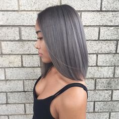 Change up the hair game for this chick! Came in with long black hair! Chopped…