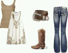 Country wear!! Love it!