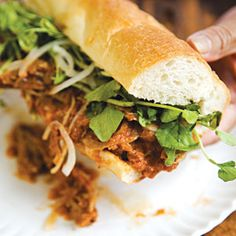Panes con Pavo (Salvadoran Turkey Sandwich) #recipe / photo: Andre Baranowski for Saveur magazine