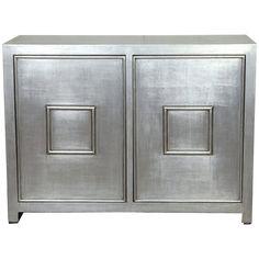 Port 68 Avenue Silver Cabinet