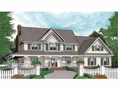 Eplans Country House Plan House Plan Code HWEPL66046