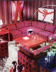 Best Retro Styles Living Room That Changes Your Home - Home of Pondo - Home Design Home Design, Retro Interior Design, Interior Design Pictures, House Design Photos, Cool House Designs, Design Room, Design Design, Design Ideas, 1970s Decor