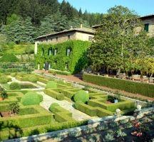 Italy: Gardens and Parks: Giardino di Badia a Coltibuono, Toscana, Italy