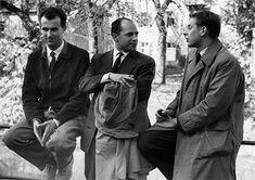 Luigi Nono, Pierre Boulez et Karlheinz Stockhausen - Contemporary and Electronic Music! Jazz, Opera Music, Blues, Leonard Bernstein, Expressionist Artists, Electronic Music, Classical Music, Scientists, Writers