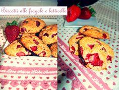 Una gatta in cucina: Biscotti alle fragole e latticello