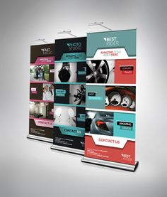design you a professional rollup banner by oxyllteam