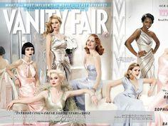 Cada año, Vanity Fair lanza una portada extendida de su revista en la que muestra a los nuevos talentos de la industria, todos juntos.  La portada de este año nos muestra únicamente a mujeres (a diferencia del año pasado) cuyos nombres se volvieron muy conocidos en el 2011.